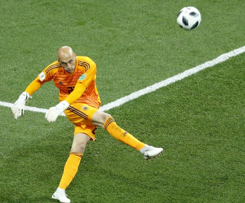 Argentina keeper Caballero has nightmare miscue in loss