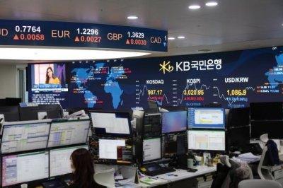 Korea's benchmark stock index rises 10% in 2021
