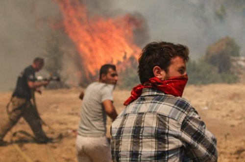Firefighters among the dead in Turkey as crews battle major wildfires