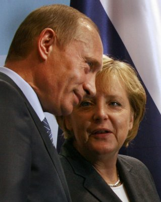 When Putin needs to talk, he calls Merkel