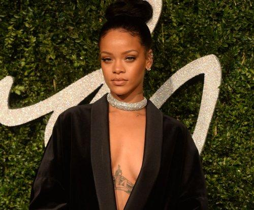 Rihanna and Leonardo DiCaprio get flirty at Plaboy mansion