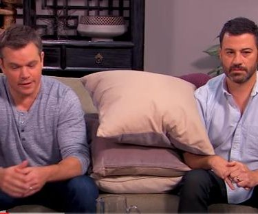 Matt Damon and Jimmy Kimmel return for second round of 'couples counseling'
