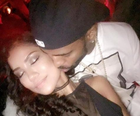 "Jhene Aiko posts kiss photo with Big Sean: ""#mcm"""