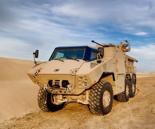 UAE ordering locally produced armored vehicles