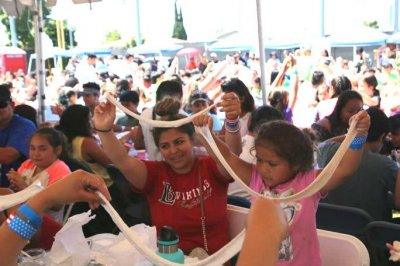 California city sets Guinness record for slime-making