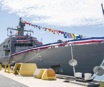 Navy commissions new LCS USS St. Louis in socially distanced ceremony