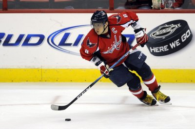 Capitals' Ovechkin out with ailment
