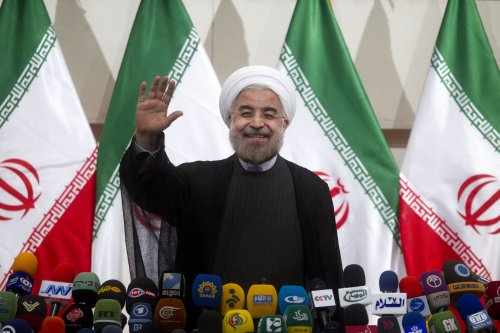 Iran's Rouhani preaches outreach to international community