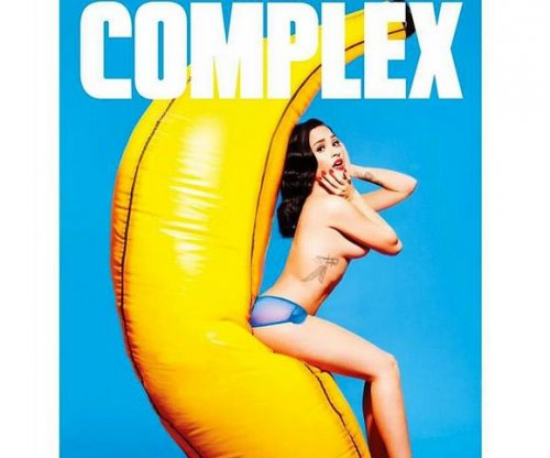 Demi Lovato goes topless for Complex magazine