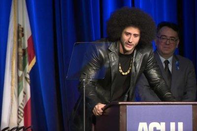 Colin Kaepernick wins 'courageous' award from ACLU
