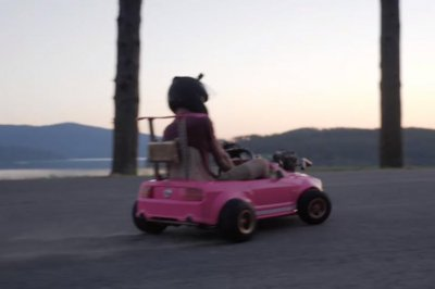 Barbie Power Wheels car modified to reach 72 mph