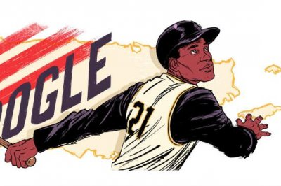 Google honors baseball great Roberto Clemente with new Doodle
