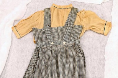 Long-lost 'Wizard of Oz' dress found in box at D.C. school