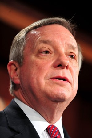 Durbin leads on defending Wall Street bill