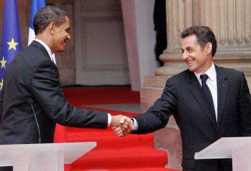 Obama, Sarkozy discuss Iran, G20 Summit