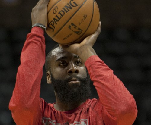 Harden's triple-double lifts Houston Rockets over Detroit Pistons