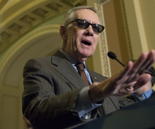 Sen. Harry Reid says he is 'sightless' in injured eye