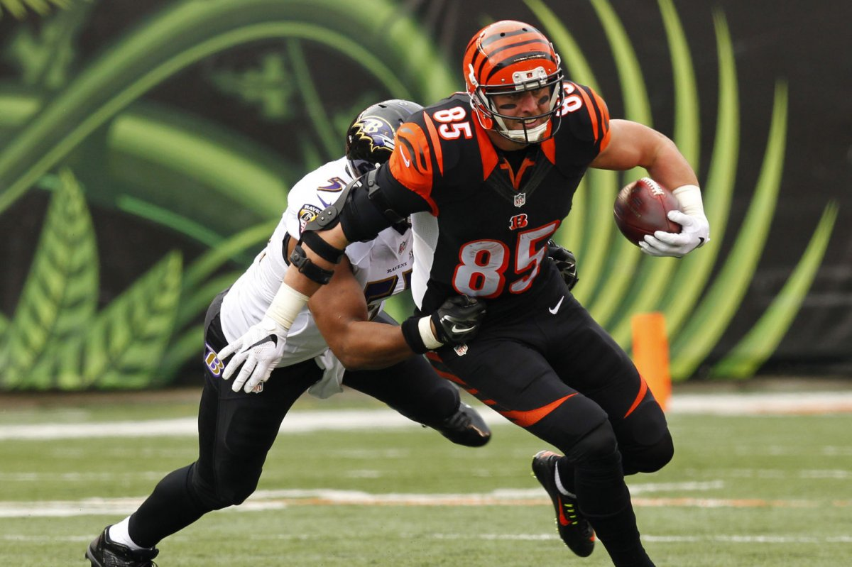 "Fantasy Football Cincinnati Bengals TE Tyler Eifert ""trusting the"