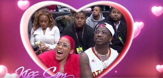 Gucci Mane proposes to girlfriend at Atlanta Hawks game