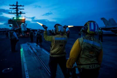 Ronald Reagan Strike Group completes air defense exercise in Philippine Sea