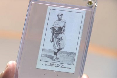 Babe Ruth card bought for $2 could be worth millions