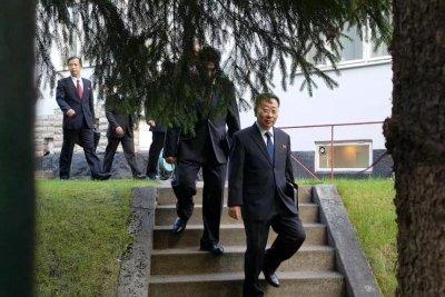 North Korea: 'talks broke down'; State Department: 'good discussion'