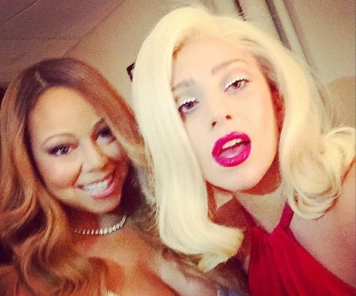 Lady Gaga shares selfie with Mariah Carey