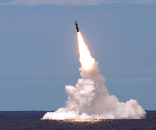 Navy flight tests Trident II ballistic missiles