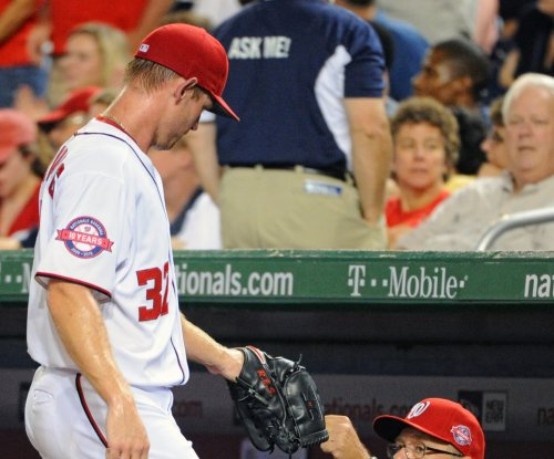 Washington Nationals' Strasburg goes on DL with oblique strain