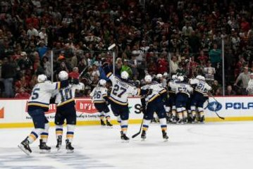St. Louis Blues eliminate Minnesota Wild on Magnus Paajarvi OT goal
