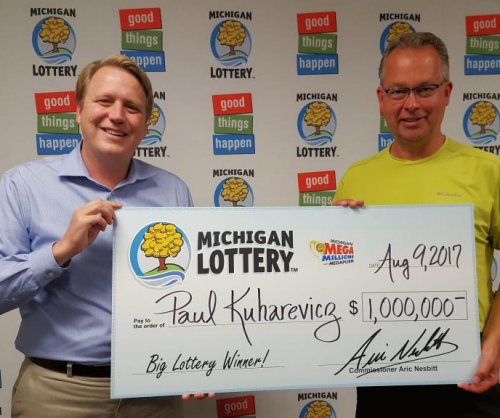 Canceled flight led Michigan man to purchase winning lotto ticket