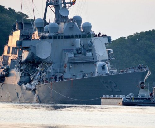 Huntington Ingalls picked to refurbish USS Fitzgerald