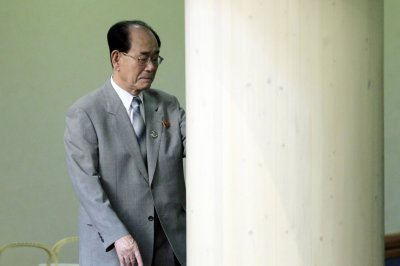 North Korea's Kim Yong Nam seen leaving Beijing airport