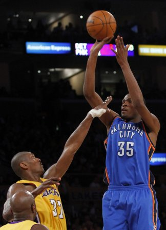 Durant voted first all-NBA honors