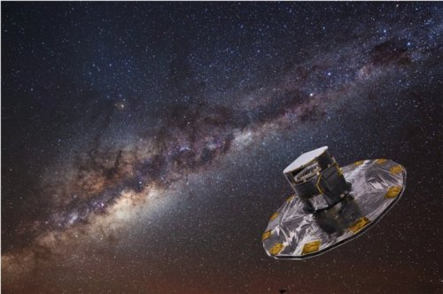 Europe spacecraft launched with mission to map the Milky Way galaxy