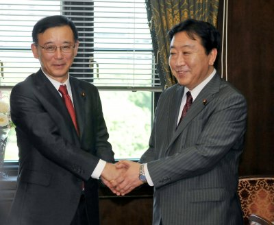 Yoshihiko Noda elected PM of Japan