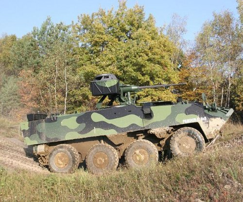 Czechs approve acquisition of Pandur II armored vehicles