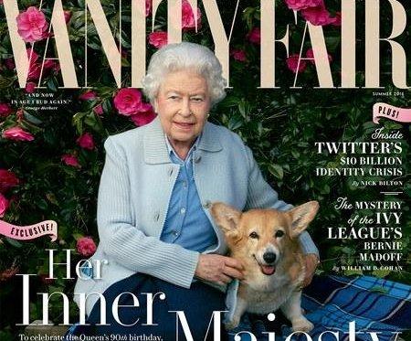Queen Elizabeth graces Vanity Fair cover to commemorate 90th birthday