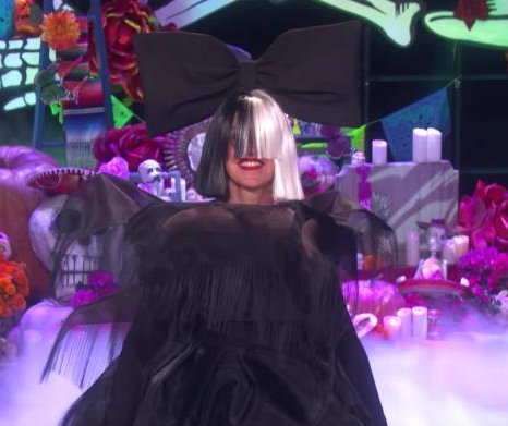 Ellen DeGeneres, Kelly Clarkson channel Sia for Halloween