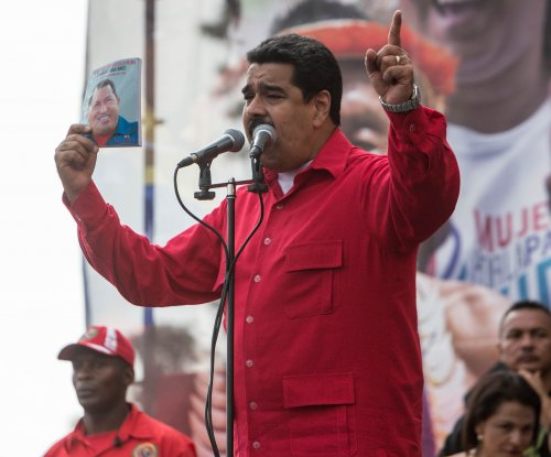U.S. sanctions Venezuela's Maduro over weekend election