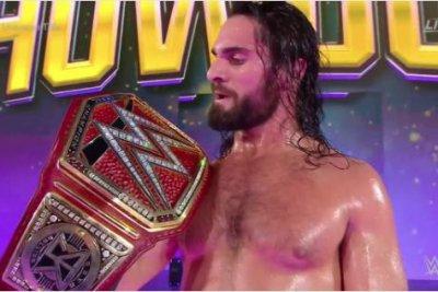 WWE Super Showdown: Seth Rollins wins, survives Brock Lesnar