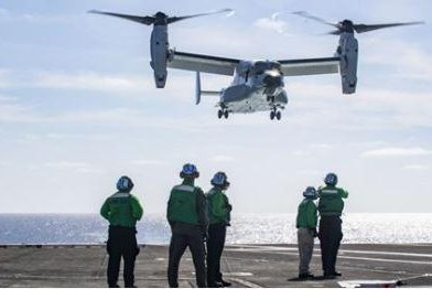 Navy orders four more CMV-22B variant aircraft in $309.5M deal
