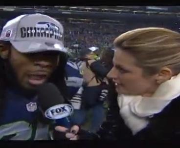 Erin Andrews: Richard Sherman's post-game rant was 'awesome'