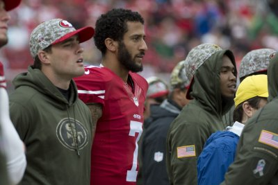 Colin Kaepernick isn't standing tall with his play