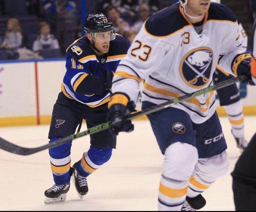 Jaden Schwartz, Kyle Brodziak help St. Louis Blues to victory over Buffalo Sabres