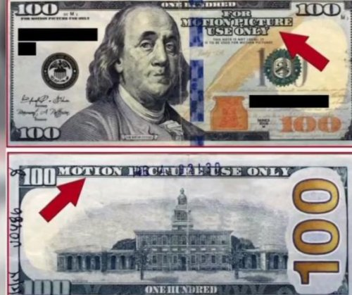 Texas police warn of movie prop money being passed off as real