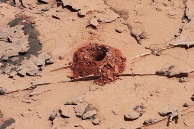 Curiosity drills Mars rock sample for first time in two years