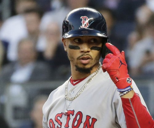 Red Sox play on vs. Astros without injured Mookie Betts