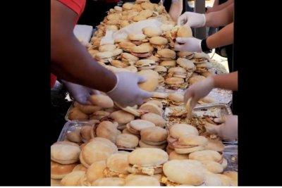Australian company breaks breakfast sandwich record