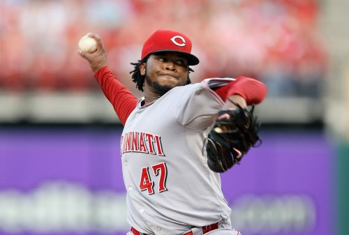Reds' Cueto suspended after fight